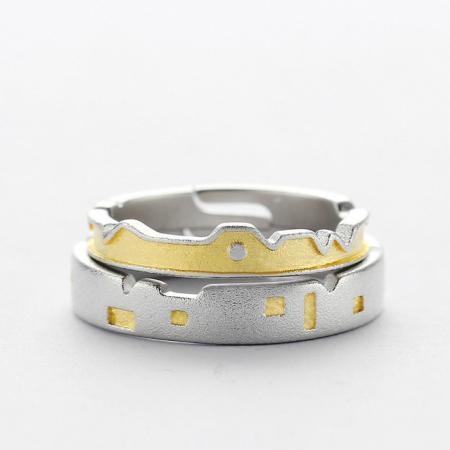 Set Inele CASTLES - Argint 9250