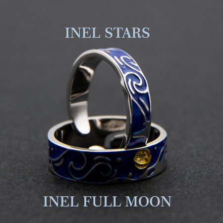 Inel Argint 925 Stars - Van Gogh ' Cerul Instelat '6