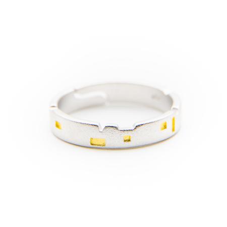 Set Inele CASTLES - Argint 9256