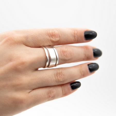 Inel Strips Argint 925 [3]