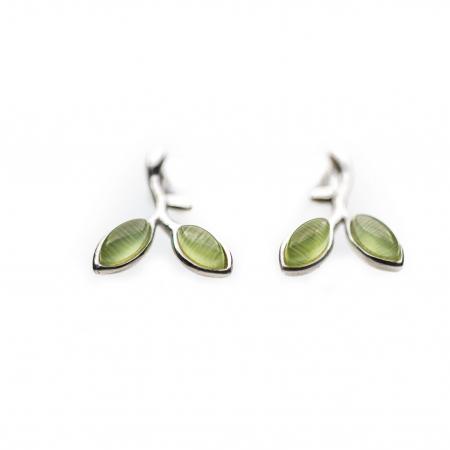 Set Cercei 'Opal Leaf' Argint 925