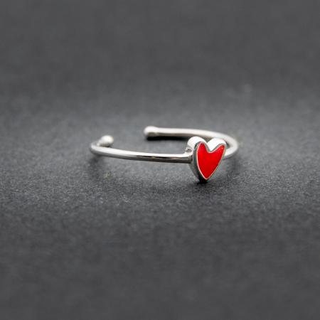 Inel RED HEART Argint 9251