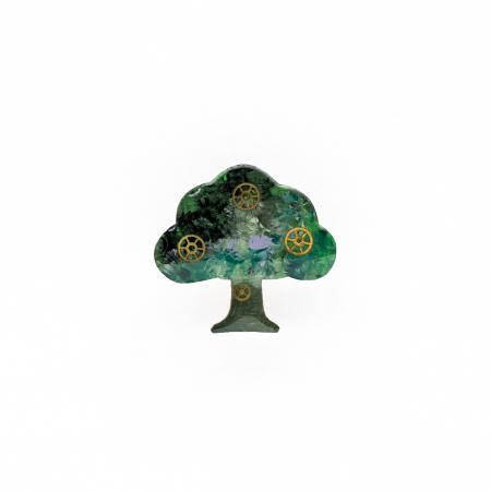 Brosa Copacul Vietii Multicolor0