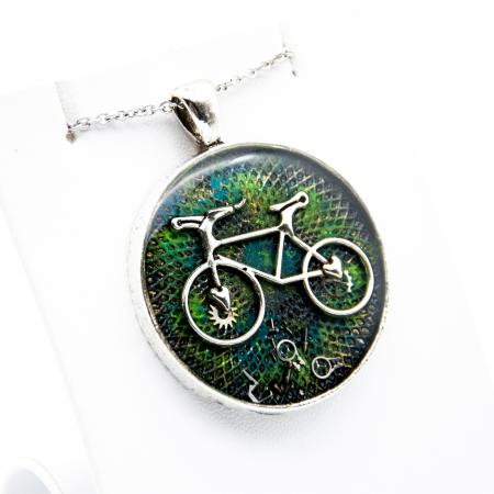 Pandantiv Bicicleta Go Green1