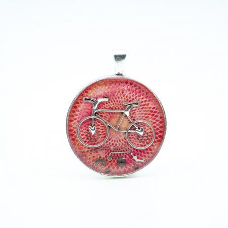 Pandantiv Bicicleta Spirala 0