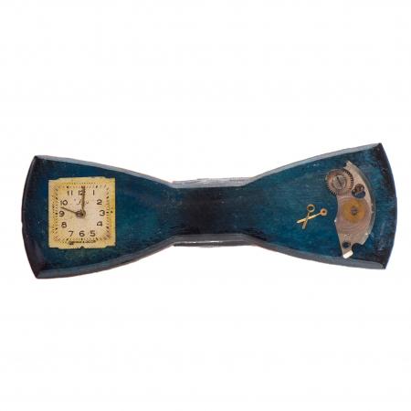 Papion Albastru Vintage0