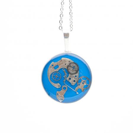 Set Bijuterii ' Blue Sapphire ' Albastru -EDITIE LIMITATA4