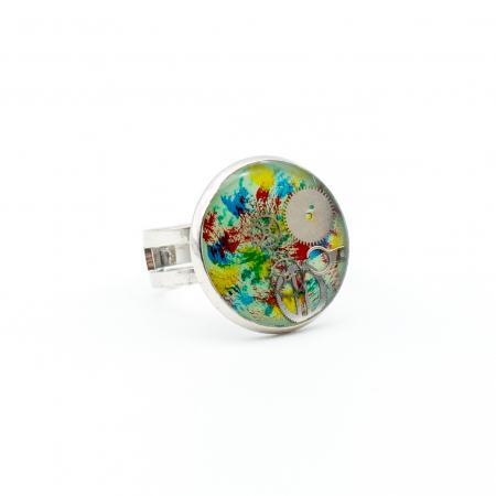 Set Bijuterii Pasare Multicolor4