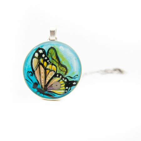 Set Bijuterii Blue Butterfly [3]