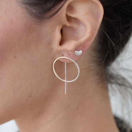 Set Cercei Circles - Argint 9250