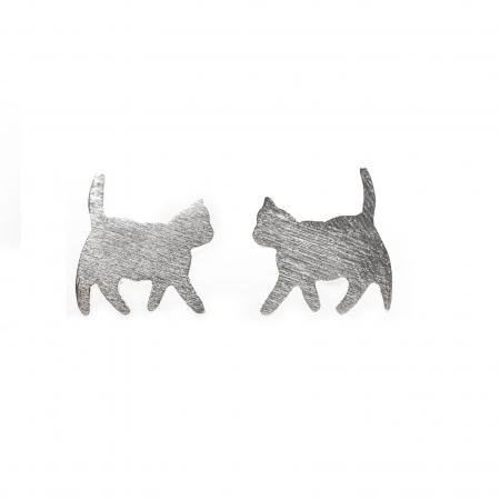 Set Cercei Pisicute - Argint 9252