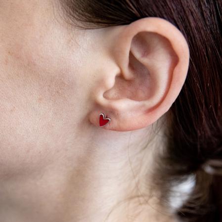Set Cercei RED HEART Argint 9250