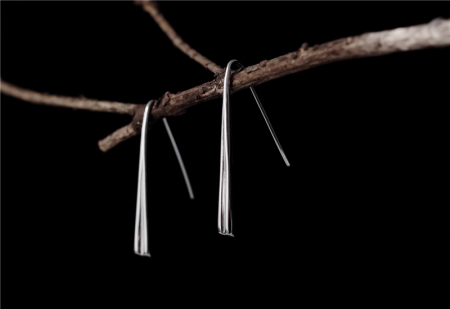 Set Cercei Hearts - Argint 9251