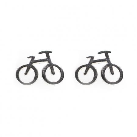 Set Cercei Bicicleta - Argint 9251