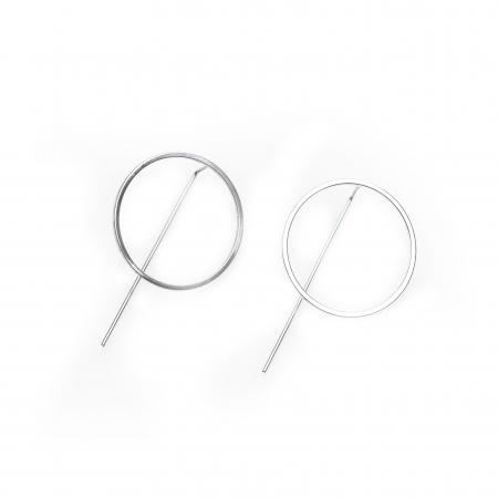 Set Cercei Circles - Argint 9252