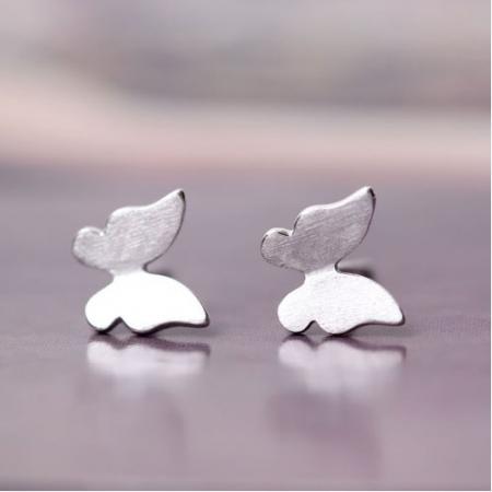 Set Cercei ' Fly Fly Butterfly ' - Argint 9251