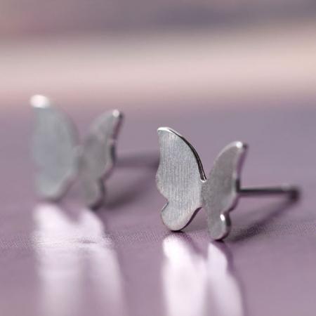 Set Cercei ' Fly Fly Butterfly ' - Argint 9253