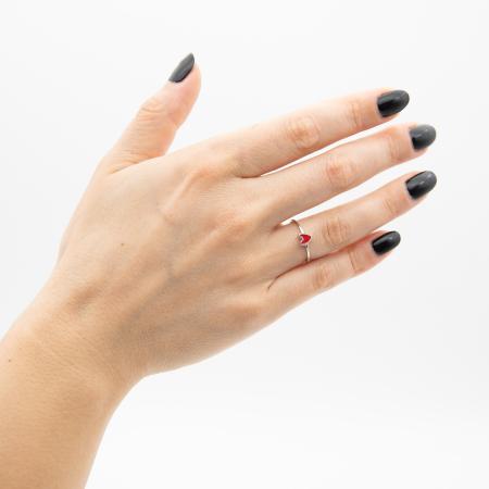Inel RED HEART Argint 9252