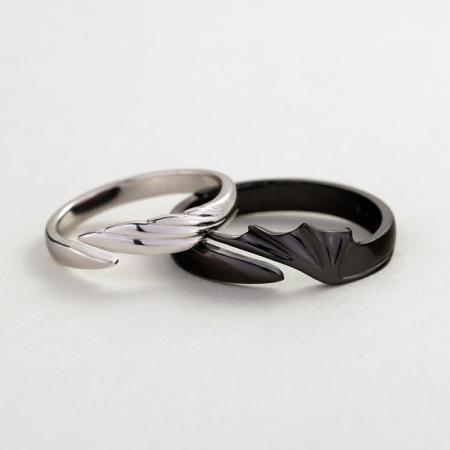 Set Inele ÎNGER & DEMON - Argint 925 [0]