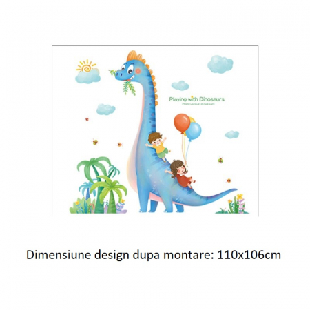 Sticker Dino si Prietenii - Colectia DecoArt Stickers [3]