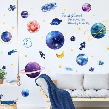 Sticker Planetarium - Colectia DecoArt Stickers [2]