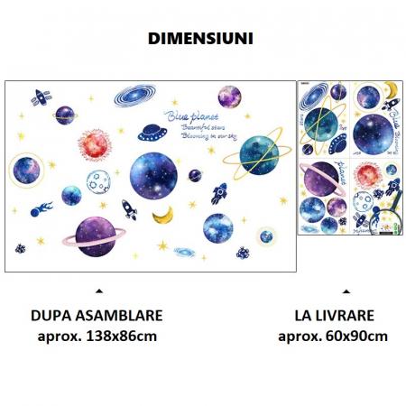 Sticker Planetarium - Colectia DecoArt Stickers [3]