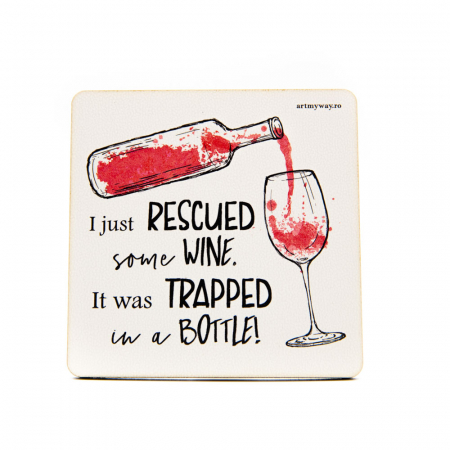 Suport pahar RESCUED WINE0