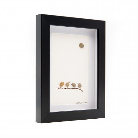 Tablou Chit-Chat - Colectia Pebble Art2