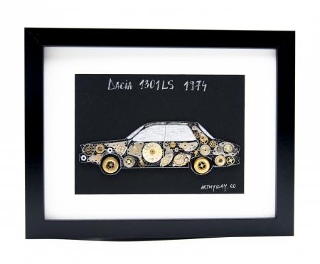 Tablou Dacia 1301LS 1974 - Colectia ART my Cars0
