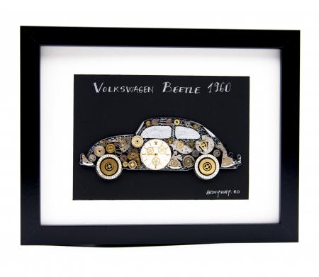 Tablou Volkswagen Beetle 1960  Colectia ART my Cars0