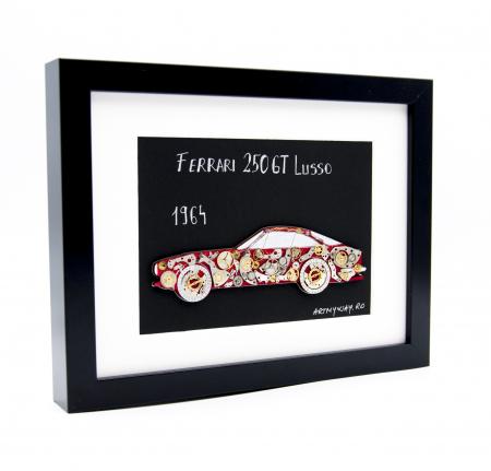 Tablou Ferrari 250GT Lusso 1964 - Colectia ART my Cars2