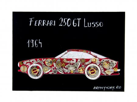 Tablou Ferrari 250GT Lusso 1964 - Colectia ART my Cars1