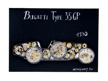 Tablou Bugatti 35 GP 1930 - Colectia ART my Cars2