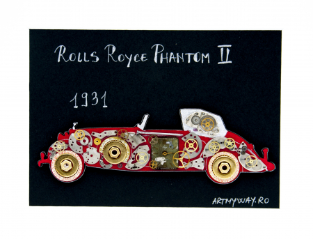 Tablou Rolls Royce Phantom II 1931  Colectia ART my Cars2