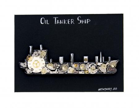 Tablou Tanc Petrolier  - Colectia SteamWall1