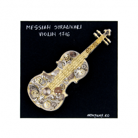Tablou Messiah Stradivari 1716 - Vioara Colectia SteamWall3