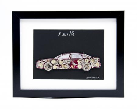 Tablou Audi A8  Colectia ART my Cars0