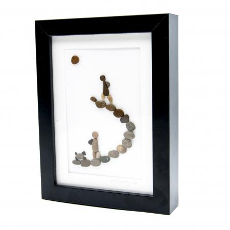 Tablou Keep Walking - Colectia Pebble Art1