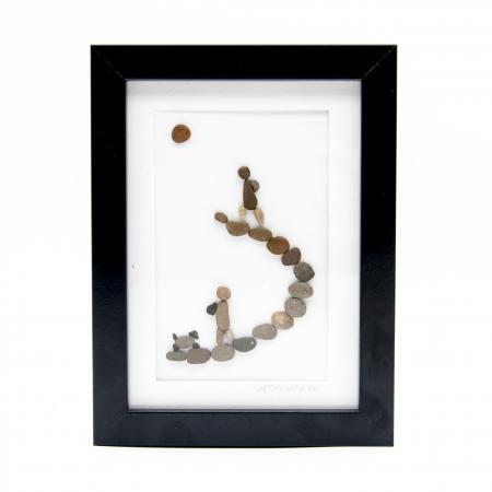 Tablou Keep Walking - Colectia Pebble Art0
