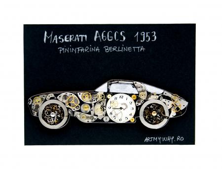 Tablou Maserati A6GCS 1953 - Pininfarina Berlinetta1