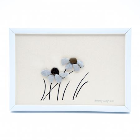 Tablou Windy Days - Roz - Colectia Pebble Art0