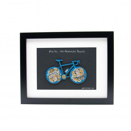 Tablou Bicicleta Albastra  - Colectia SteamWall0