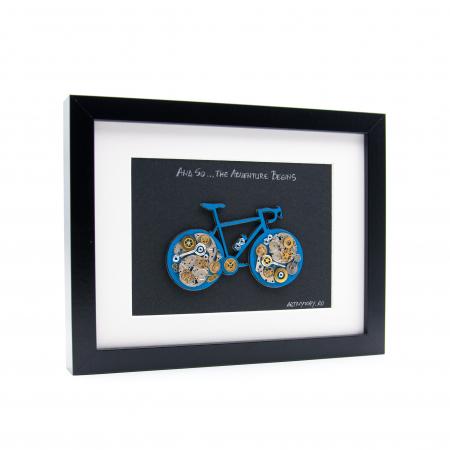 Tablou Bicicleta Albastra  - Colectia SteamWall1