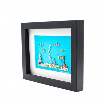 Tablou Aquarium - Colectia Pebble Art2