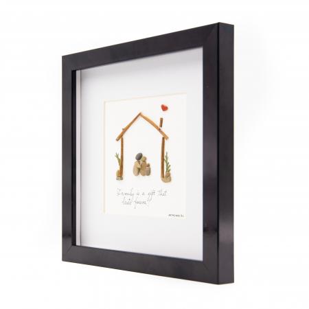 Tablou FAMILY FIRST - Colectia Pebble Art2