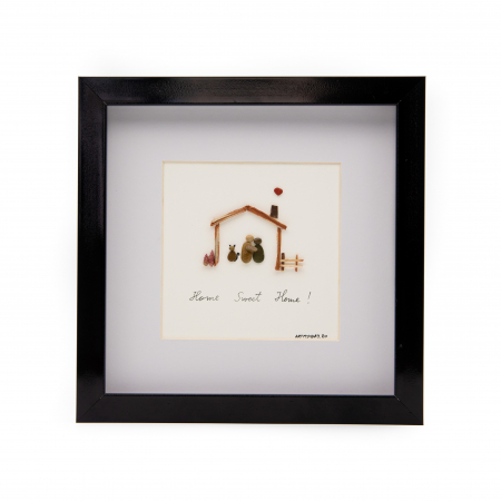 Tablou HOME SWEET HOME - Colectia Pebble Art0