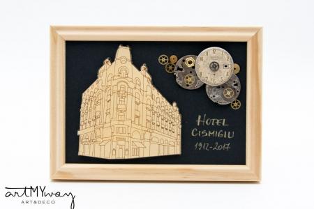 Tablou Hotel Cismigiu  - Colectia SteamWall0