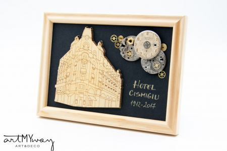 Tablou Hotel Cismigiu  - Colectia SteamWall1