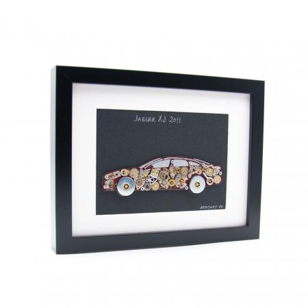 Tablou JAGUAR XJ 2011 - Colectia ART my Cars