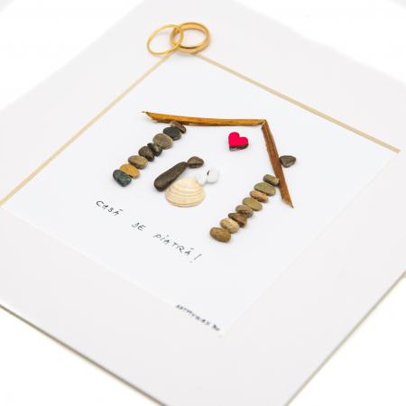 Tablou ' Marry me ' - Colectia Pebble Art1